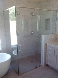 Frameless Shower After