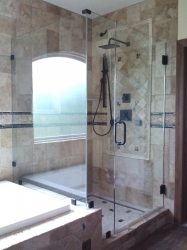 Frameless Shower 130