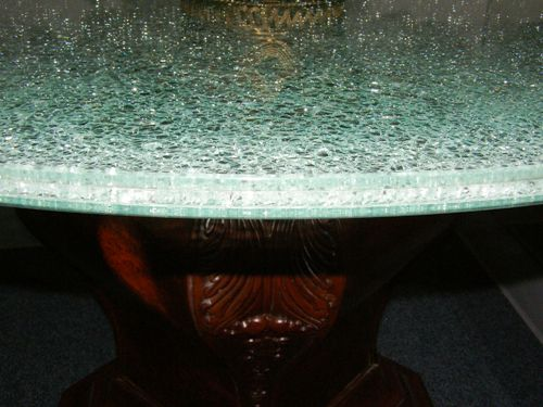 cracked glass top about fileshere. Black Bedroom Furniture Sets. Home Design Ideas