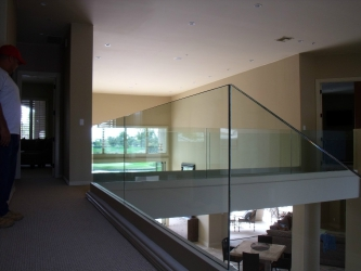 Glass Hand Railing