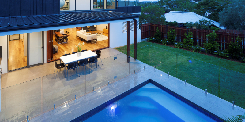 Glass Pool Fence glass pool fencing in phoenix