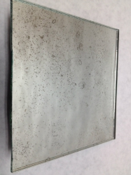Dust Speckles Antique Mirror
