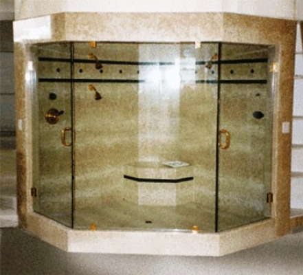 Shower doors and frameless shower enclosures in phoenix arizona double door frameless shower 122 planetlyrics Image collections